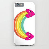 iPhone & iPod Case featuring rainbow friends by Lori Joy Smith