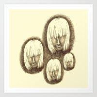 Quadruplets Art Print