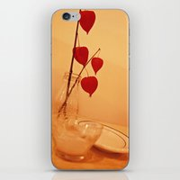 Red Flowers iPhone & iPod Skin