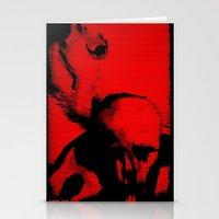 Parasite Oddity (Red Mix… Stationery Cards