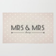 Mrs & Mrs (lesbian content) Rug