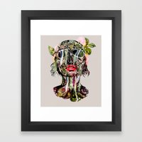The Death Within 2  Framed Art Print
