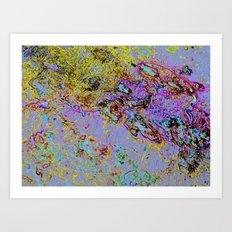 YOKEosmos  Art Print