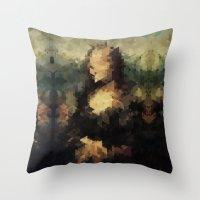 Panelscape Iconic - Mona… Throw Pillow