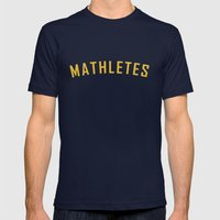 Mathletes - Mean Girls M… Mens Fitted Tee Navy SMALL