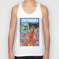 Shinobi Unisex Tank Top