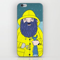 Fisherman iPhone & iPod Skin