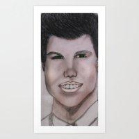 JACOB Art Print