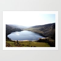Mountains of Ireland Art Print
