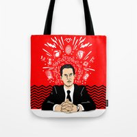 Twin Peaks: Dale Cooper's Thoughts Tote Bag