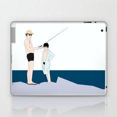 fishing time Laptop & iPad Skin