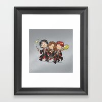 HP Gang Framed Art Print