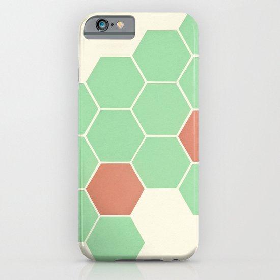 Mint Honeycomb iPhone & iPod Case