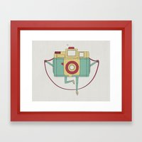 1, 2, 3, Click! Framed Art Print