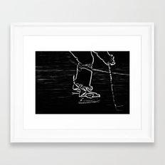 Gliding Framed Art Print