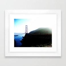 San Francisco. Framed Art Print