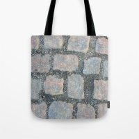 Cobble Stone City Tote Bag