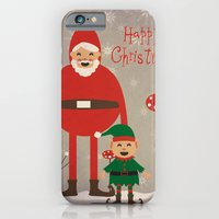 Happy Christmas iPhone 6 Slim Case
