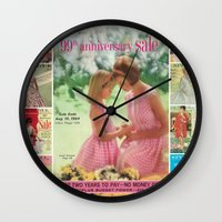 1964 - 99th Anniversary Sale Catalog Cover Wall Clock