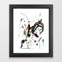 des Framed Art Print