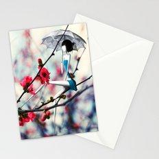 La Fille à l'Ombrelle Stationery Cards