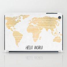 Hello World iPad Case