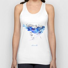 COLOUR ME BLUE | TROYE SIVAN ARTWORK Unisex Tank Top