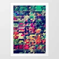city Art Prints featuring Atym by Spires