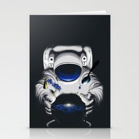 Cafe Galactica Stationery Cards