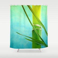 WELLNESS BAMBOO Shower Curtain