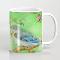 Bluebirds Mug