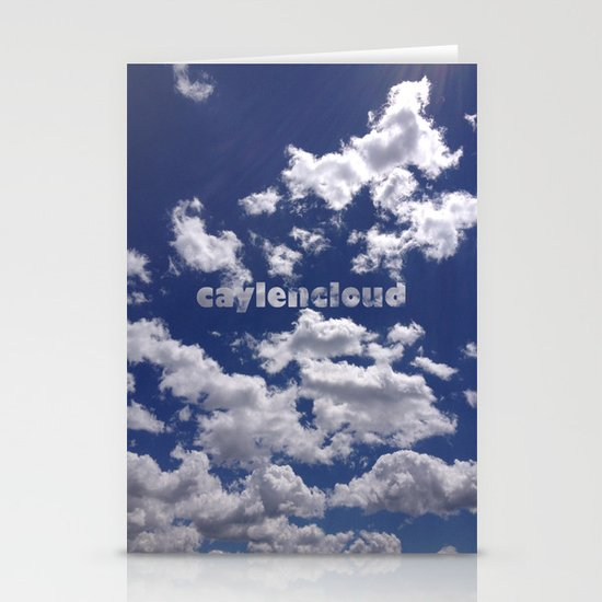 CaylenCloud. Stationery Card