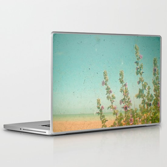 Flowers by the Sea Laptop & iPad Skin