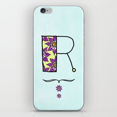 R r iPhone & iPod Skin