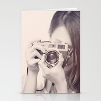 Black and White Love  Stationery Cards