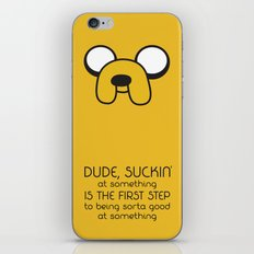 Wisdom From A Dog iPhone & iPod Skin