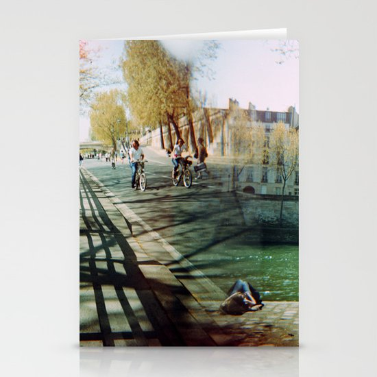 Paris in the Spring Time 2 Stationery Card
