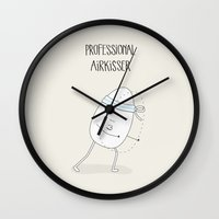 PROFESSIONAL AIRKISSER Wall Clock