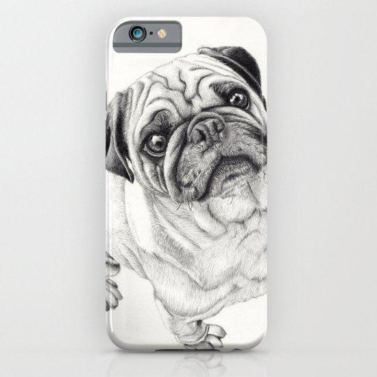 Seymour the Pug iPhone & iPod Case