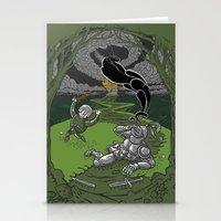 Happy Knight Stationery Cards