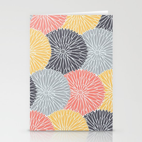 Flower Infusion Stationery Card