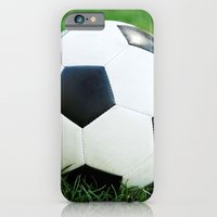 iPhone & iPod Case featuring Soccer Ball by Eye Shutter to Think