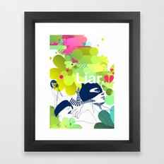 liar Framed Art Print