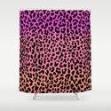 Hot Leopard Shower Curtain