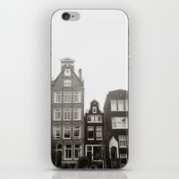 { teeny houses } iPhone & iPod Skin