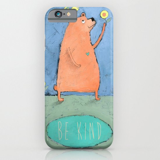 Be Kind iPhone & iPod Case