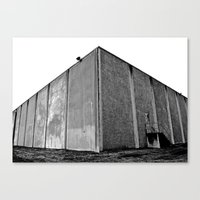 Canvas Print featuring Warehouse corner by Vorona Photography