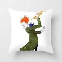 The Coat Tail Throw Pillow