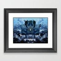 Cloud Formation Framed Art Print