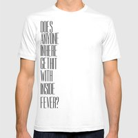 So Bad Sometimes, It's H… Mens Fitted Tee White SMALL